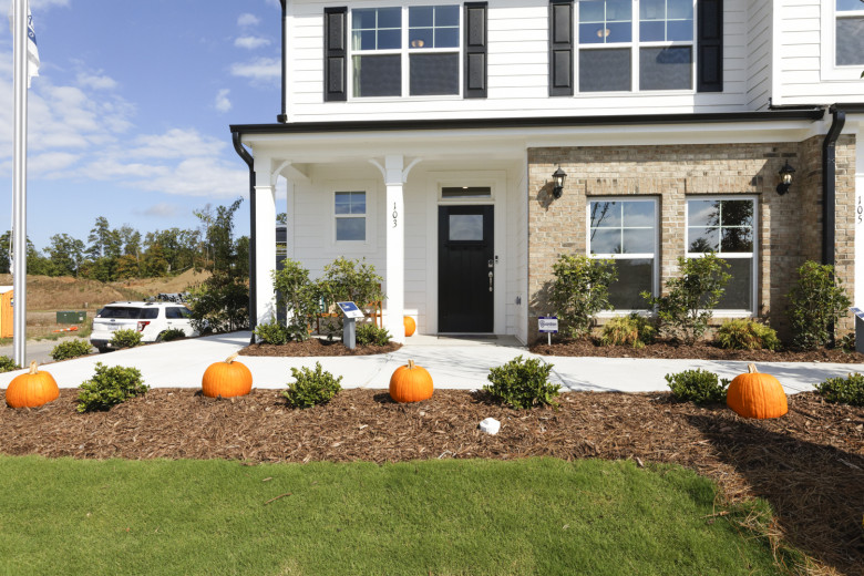 Cary Model at Highland Park Townhomes