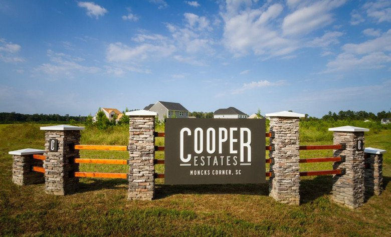 Cooper Estates Entrance Monument