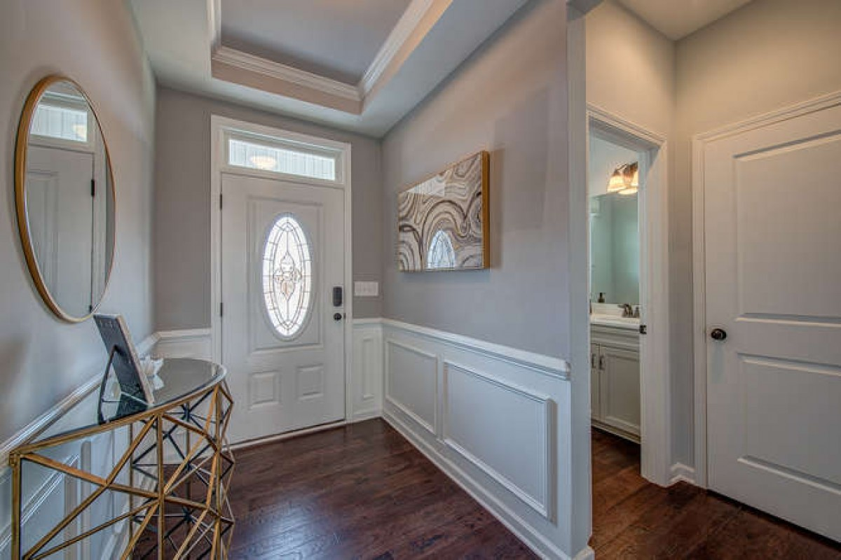 Cary Townhome Entryway