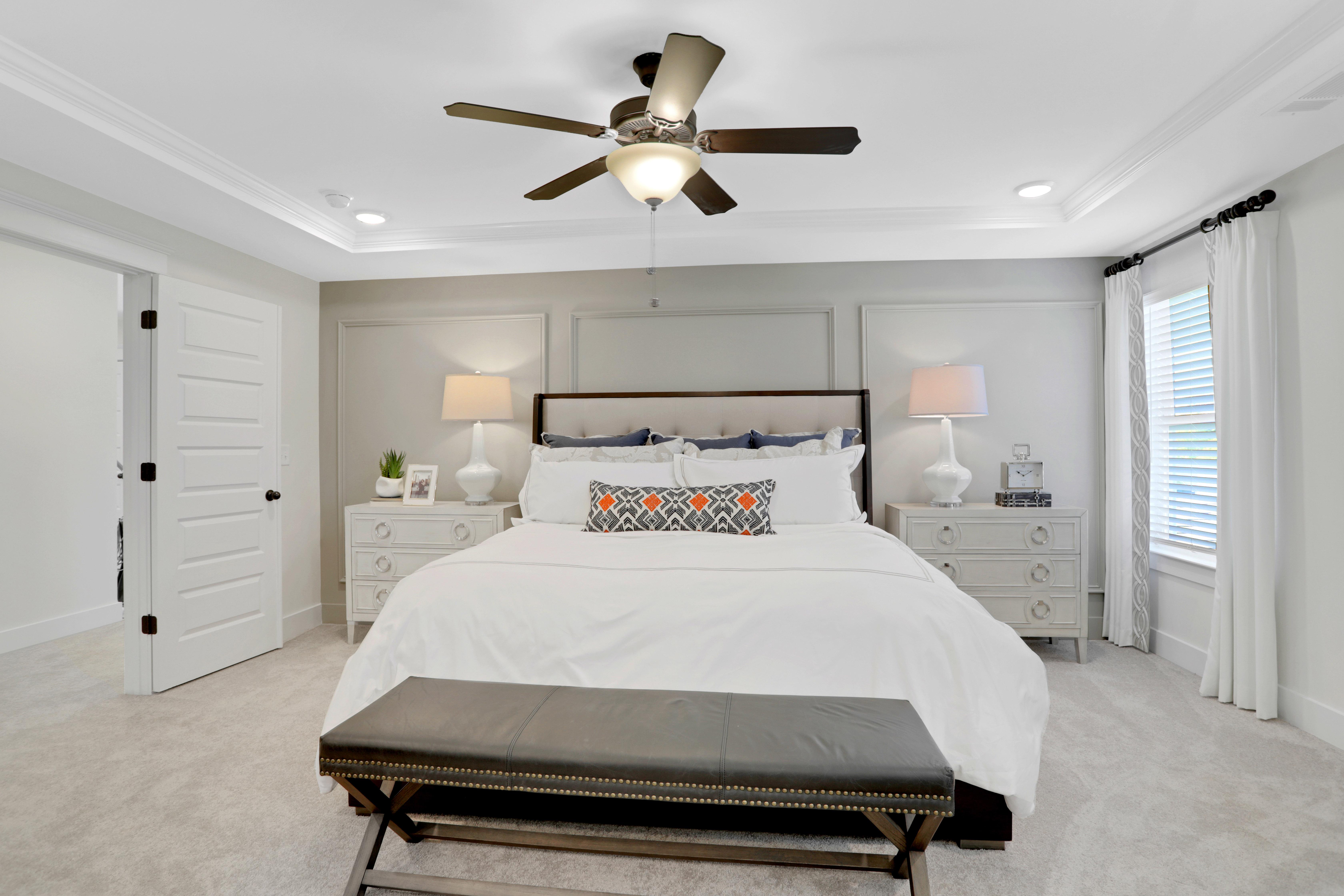 Colfax Model Master Bedroom