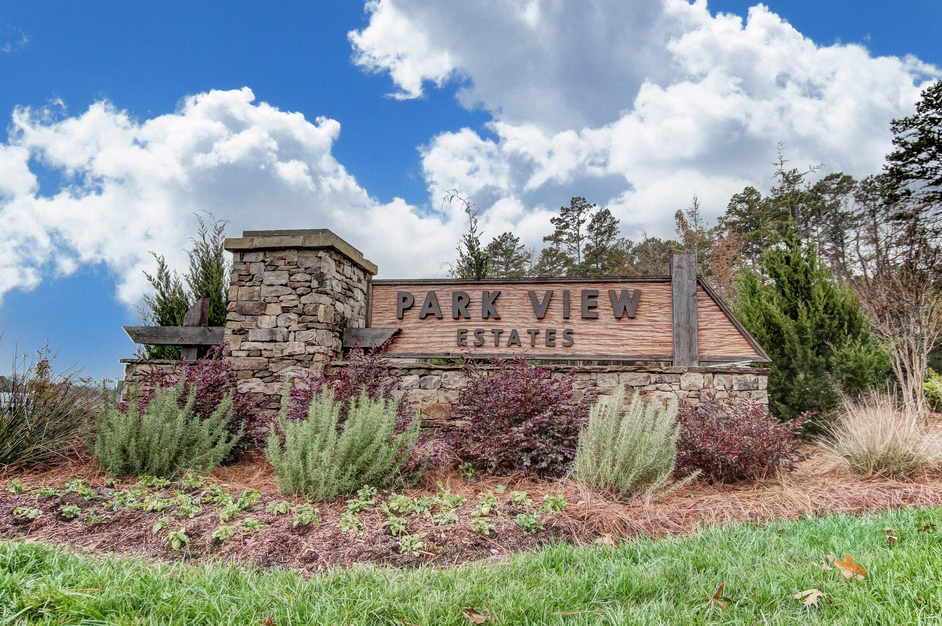 Parkview Estates Entry Monument