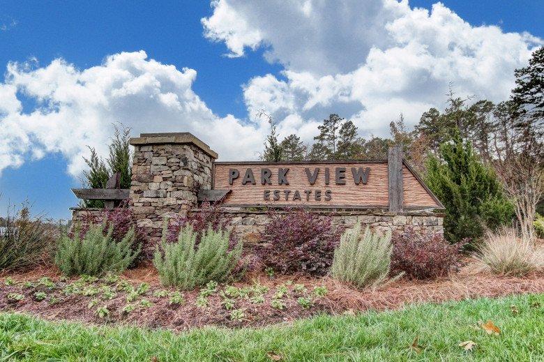 Parkview Estates Entry Monument