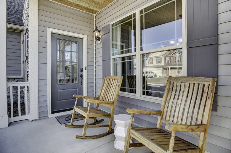 Cypress III Front Porch