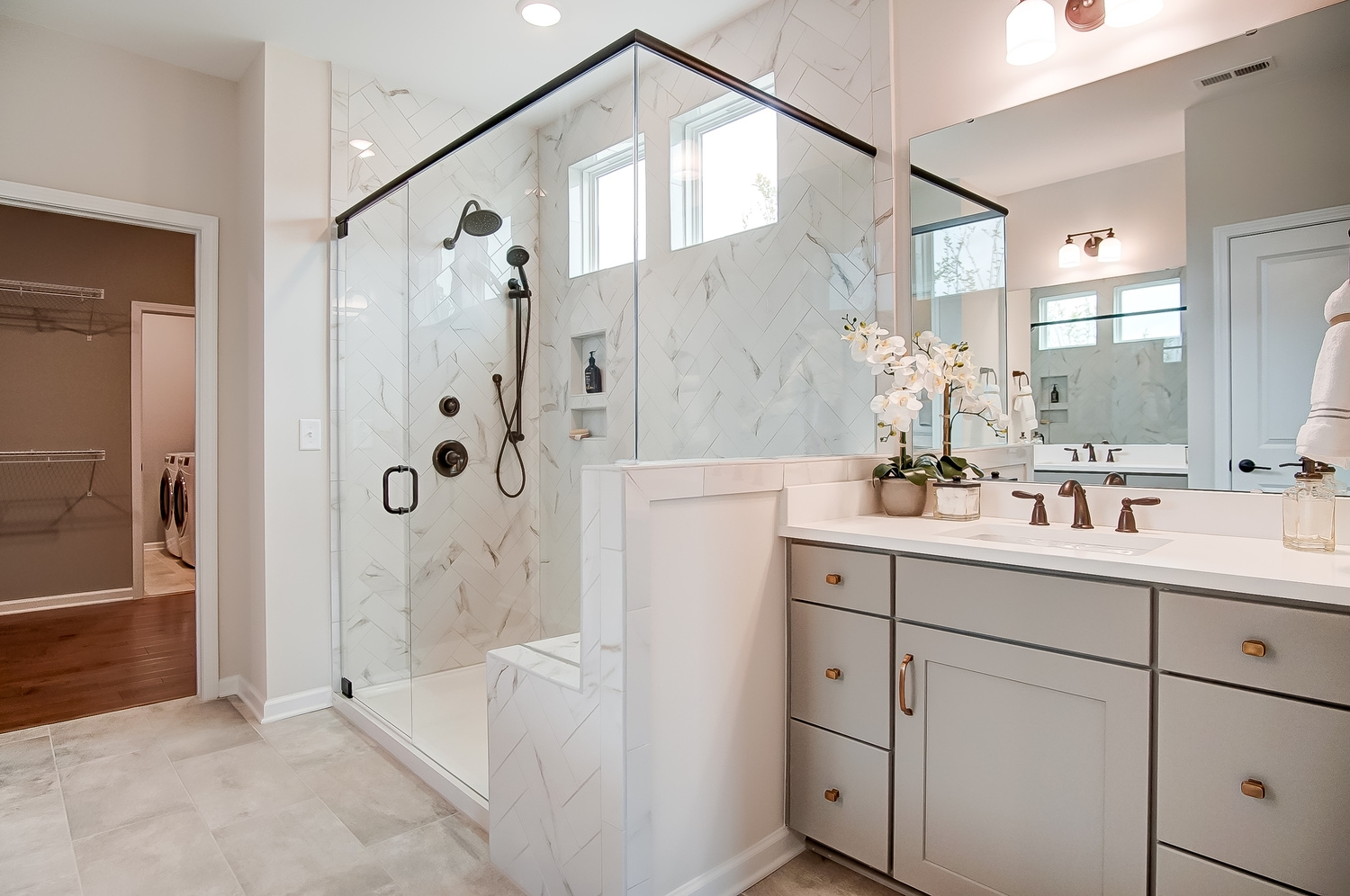 Edgefield Master Bathroom