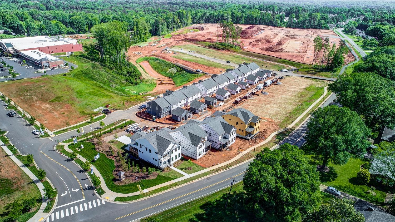 Laurel Walk Aerial View