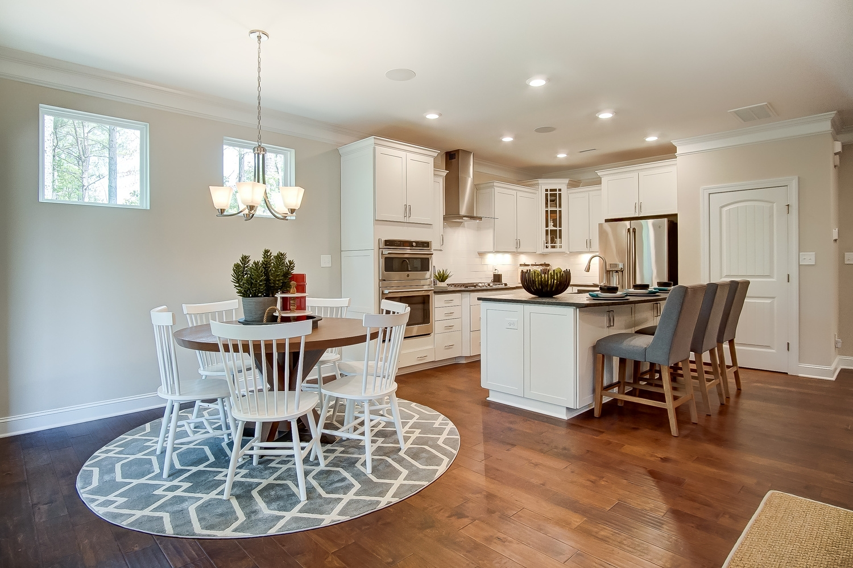 Raleigh Breakfast Area and Kitchen