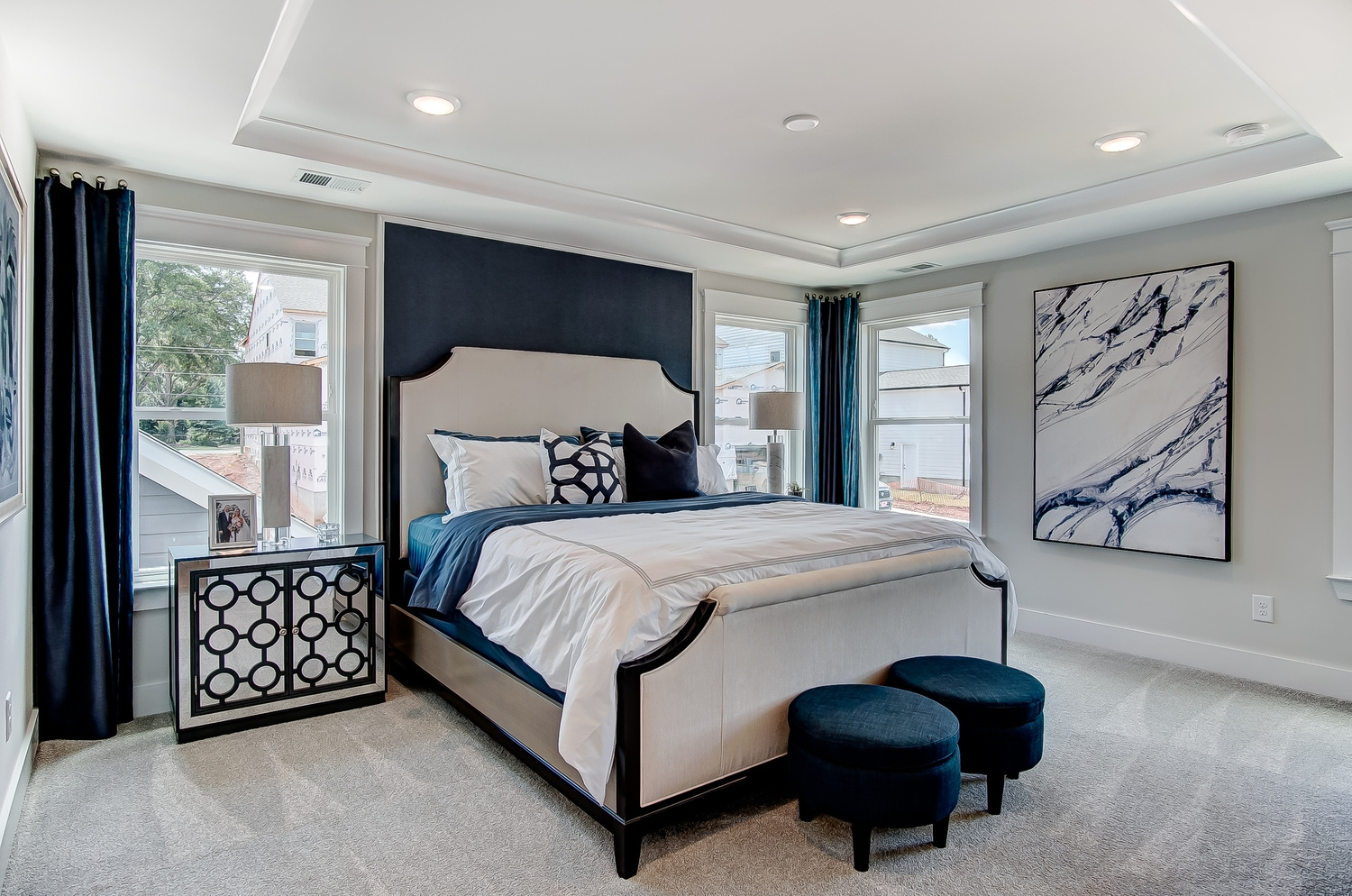 Cambridge Townhome Owner's Bedroom