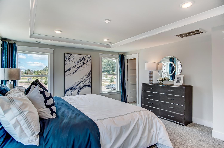 Cambridge Townhome Master Bedroom