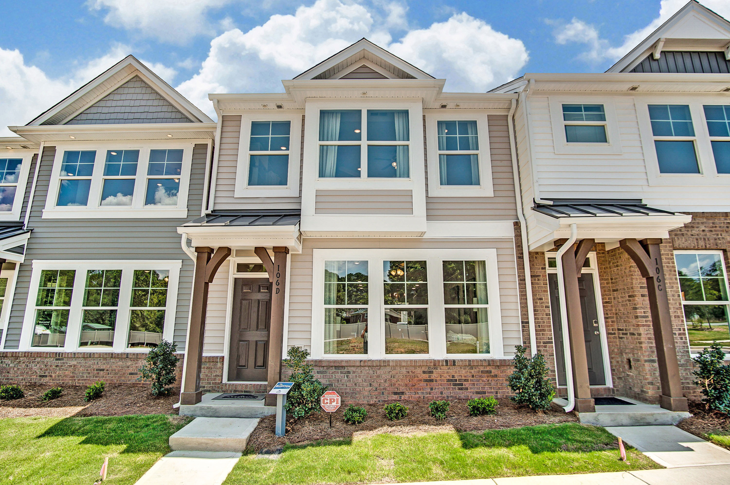 Bluffton Townhome Exterior