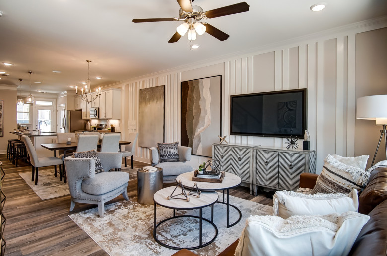 Bluffton Townhome Family Room