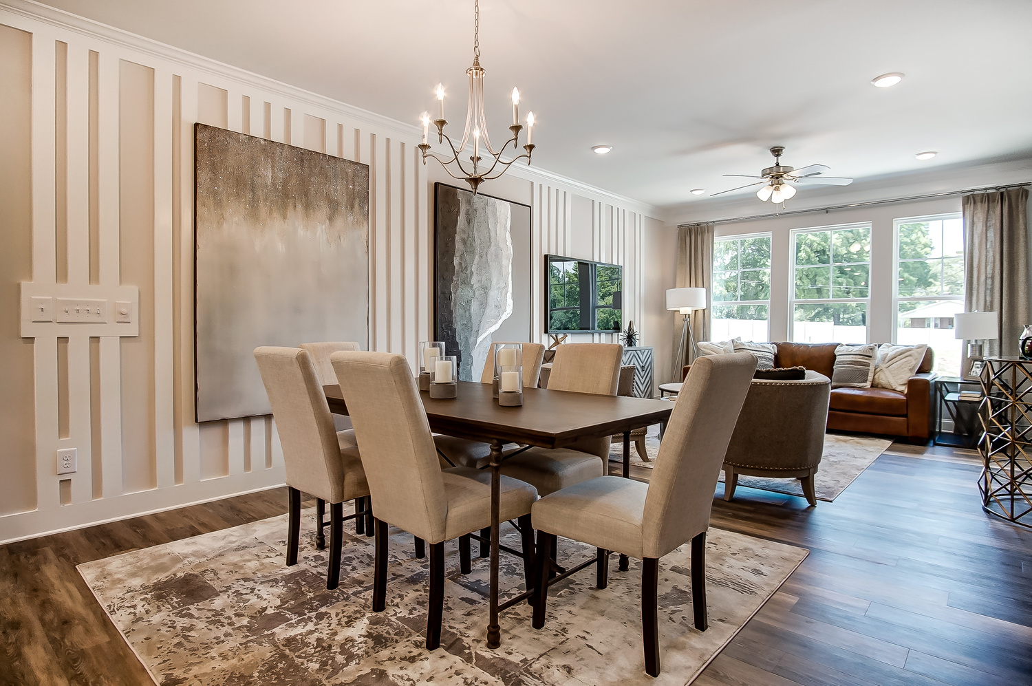 Bluffton Townhome Dining Area