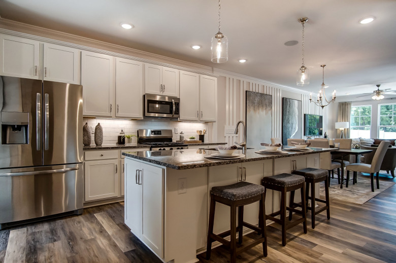 Bluffton Townhome Kitchen