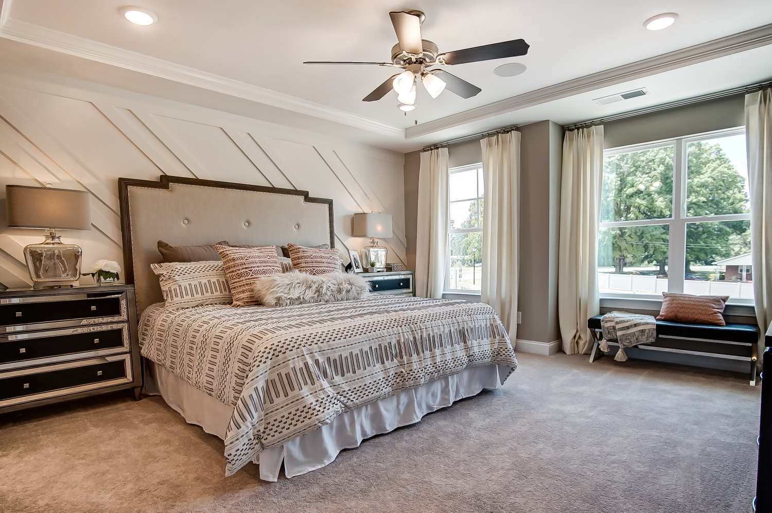 Bluffton Townhome Master Bedroom