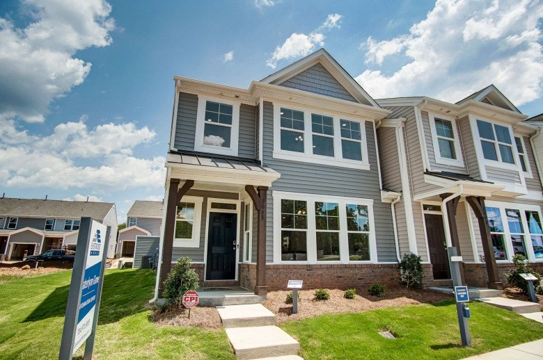 Norris Townhome Model Exterior