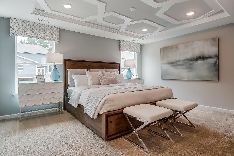 Kensington Townhome Master Bedroom