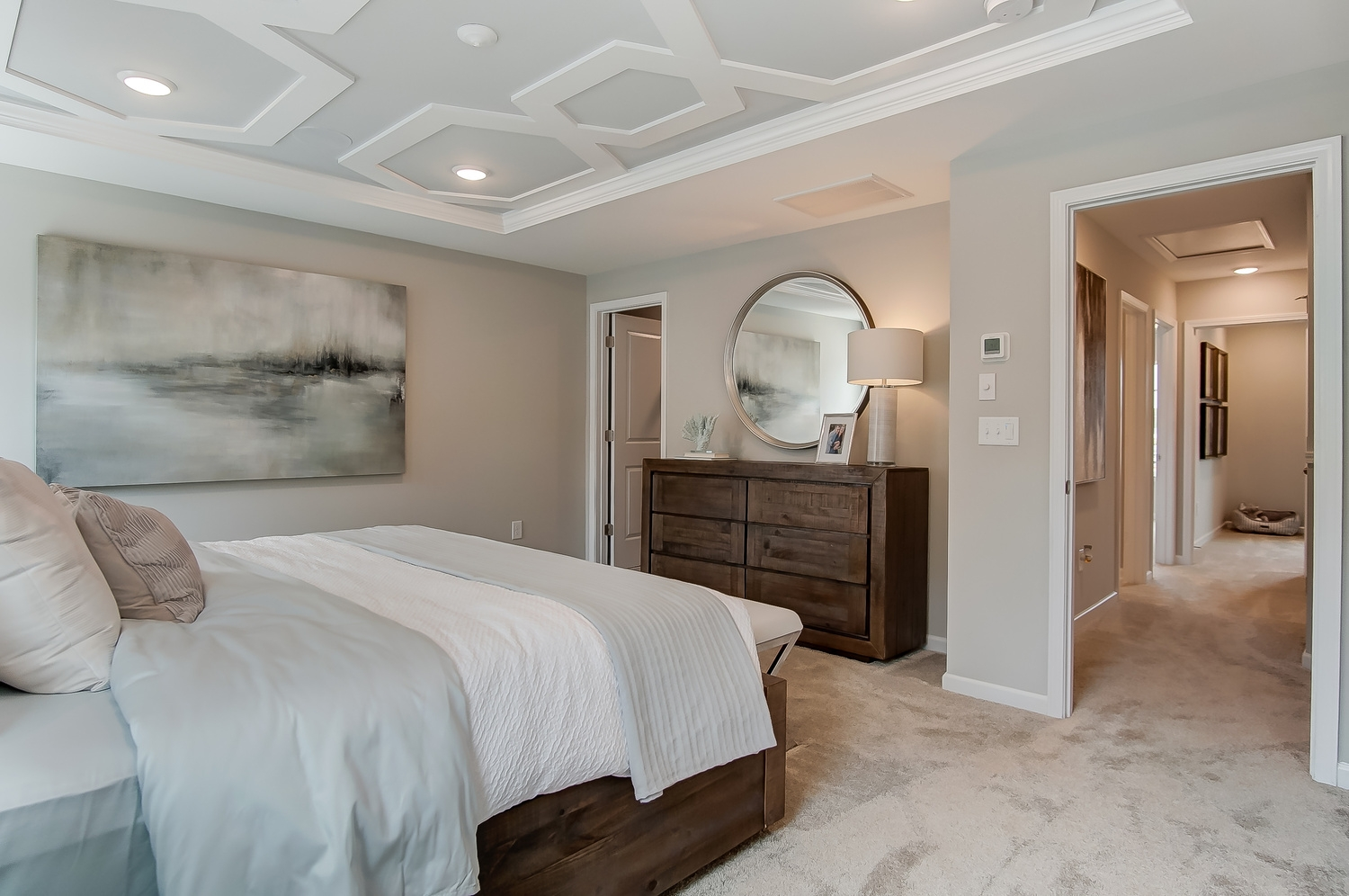 Kensington Townhome Owner's Bedroom