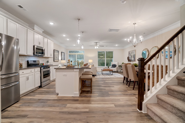 Ashland Kitchen and Family Room