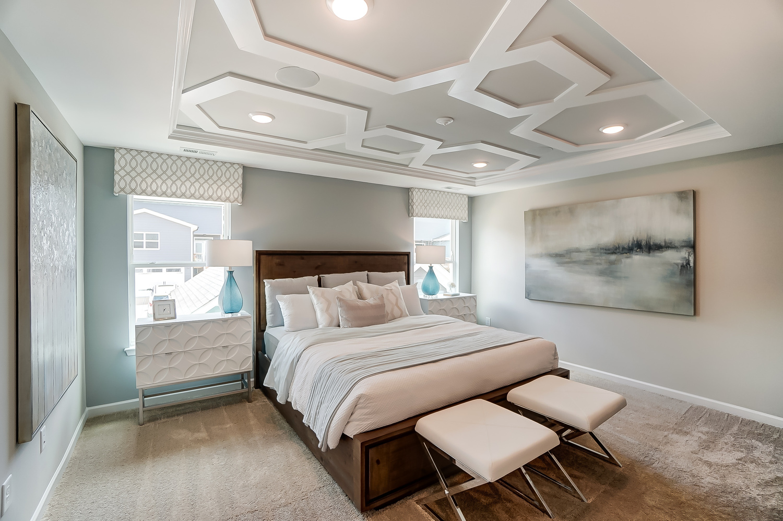 Kensington Townhome Owner's Bedroom