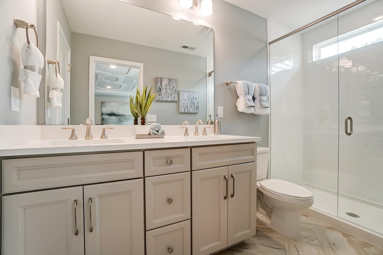 Kensington Townhome Owner's Bath
