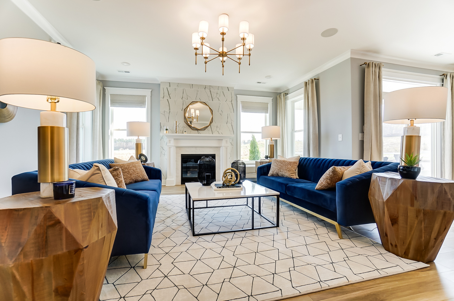 Charleston Model Family Room