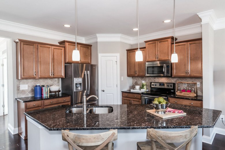 Burlington Townhome Kitchen