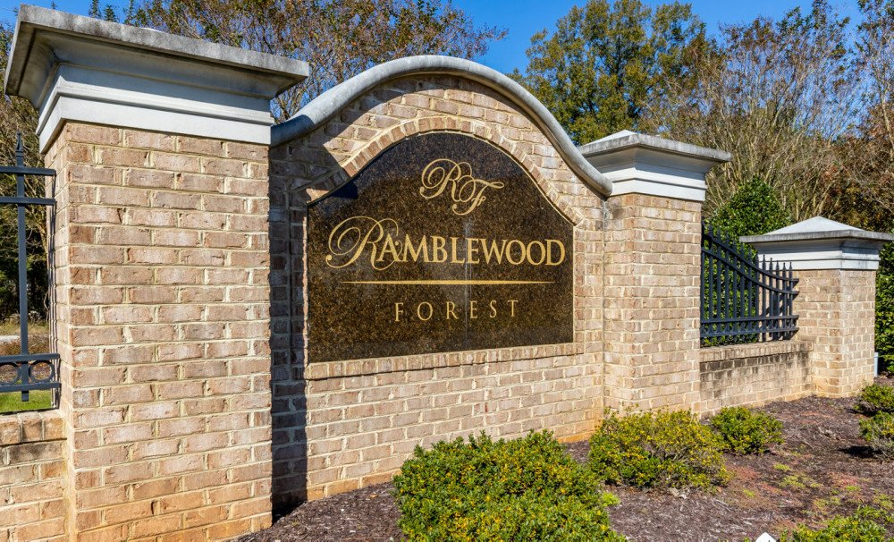 Ramblewood Forest Entry Monument