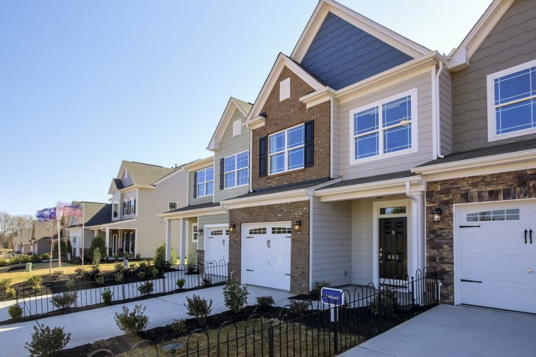 Adams Mill Townhome Exterior