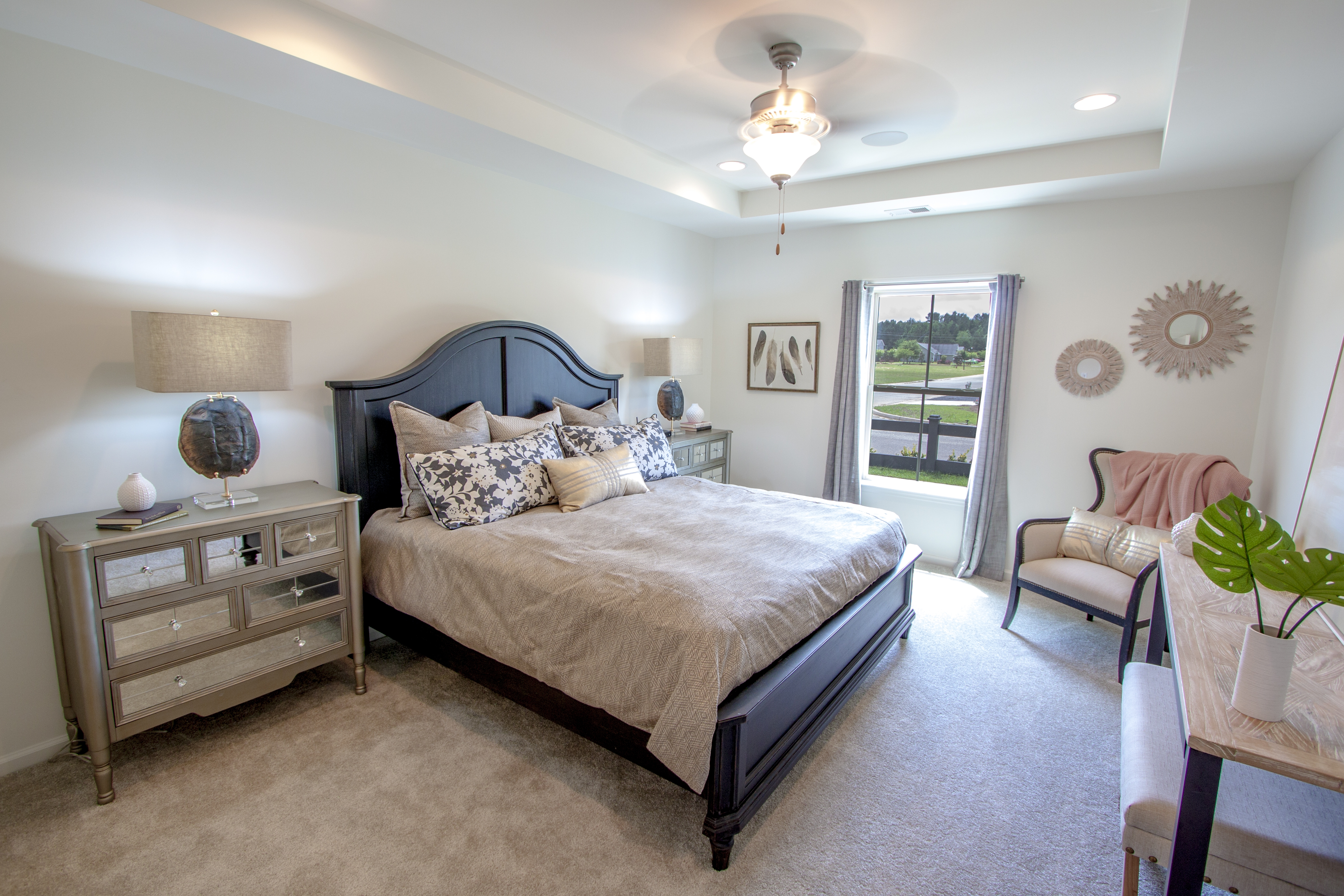 The Bluffton Master Bedroom