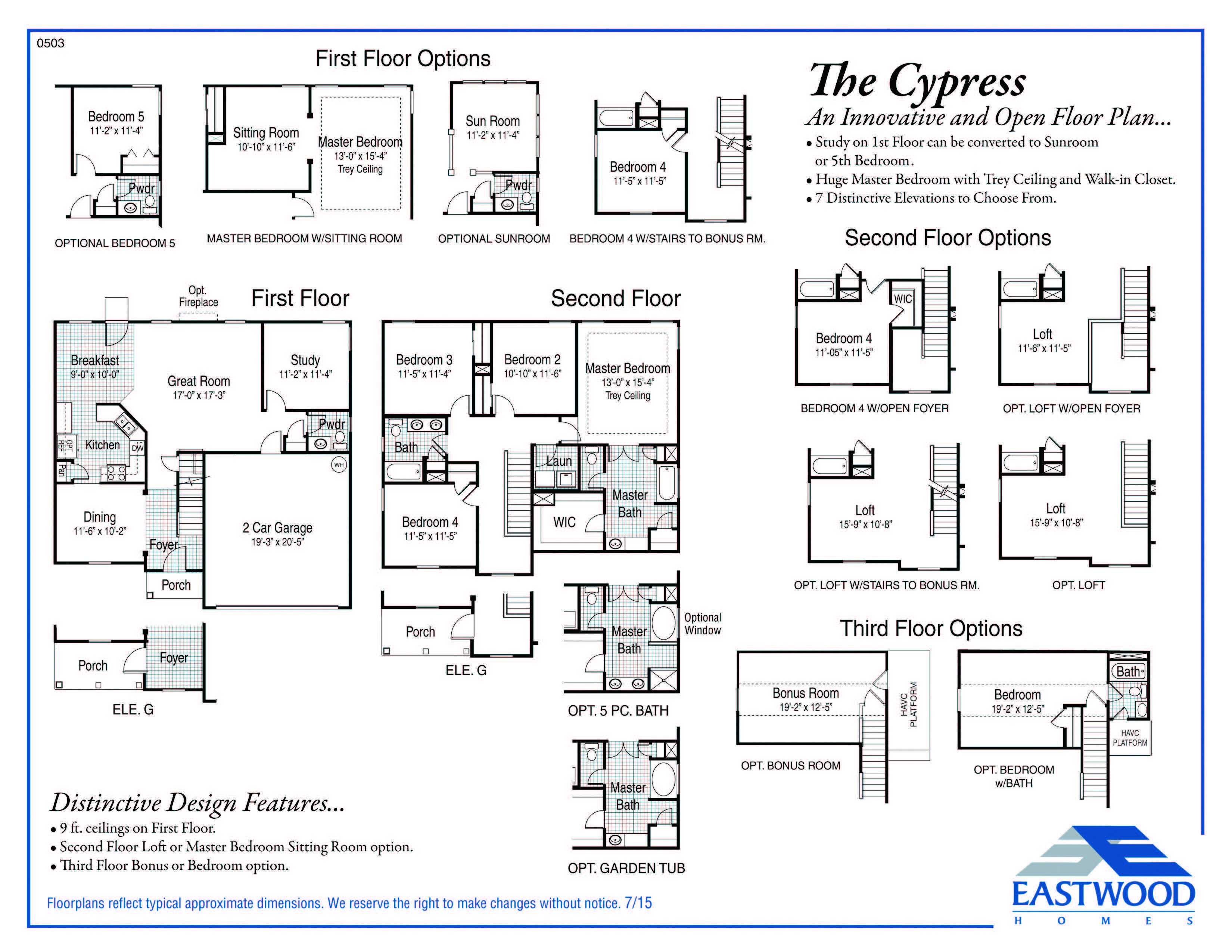 Cypress  First Floor Image