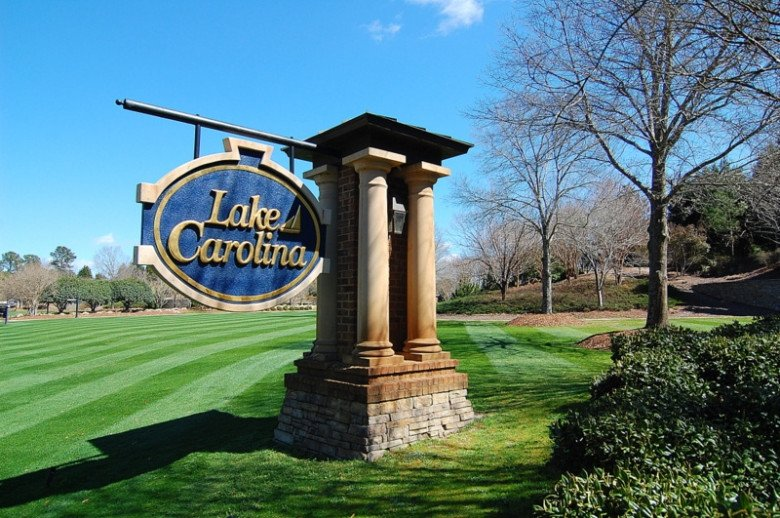 Lake Carolina Entrance