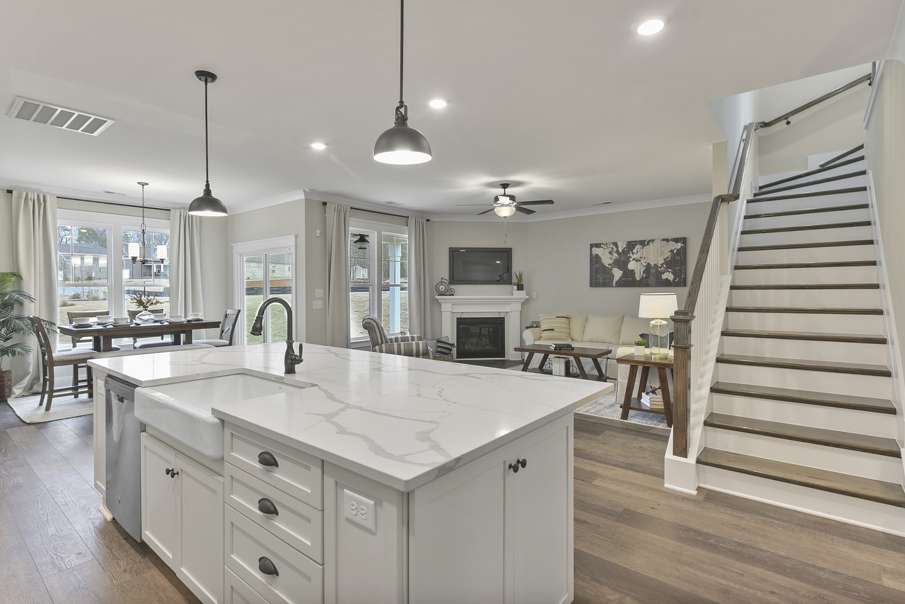 Fenwick Kitchen and Family Room