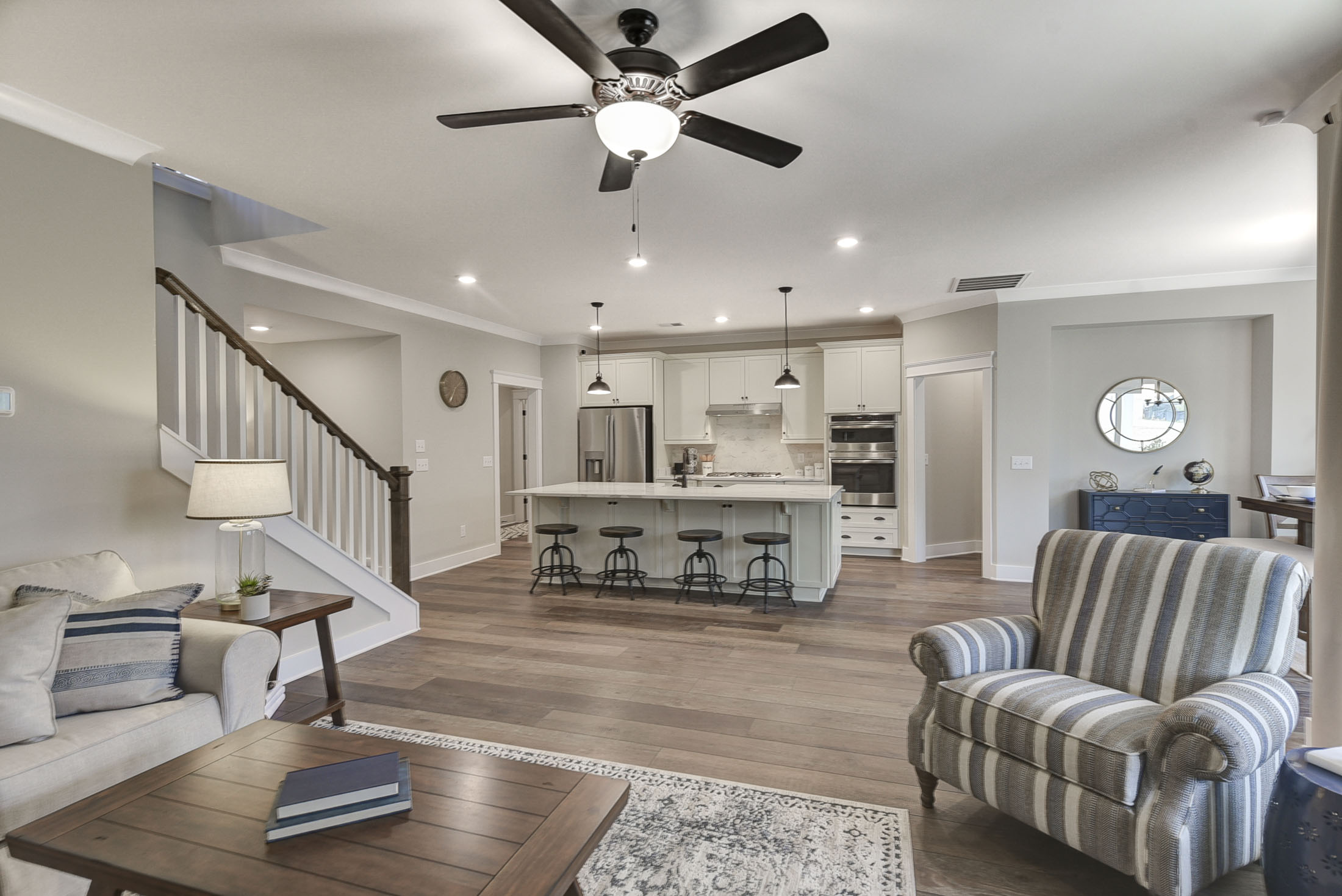 Fenwick Family Room and Kitchen