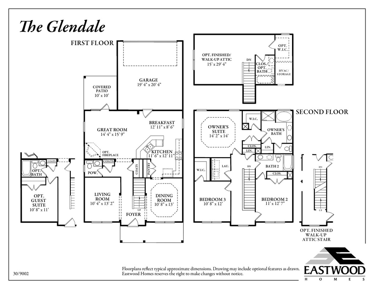 Glendale First Floor Image