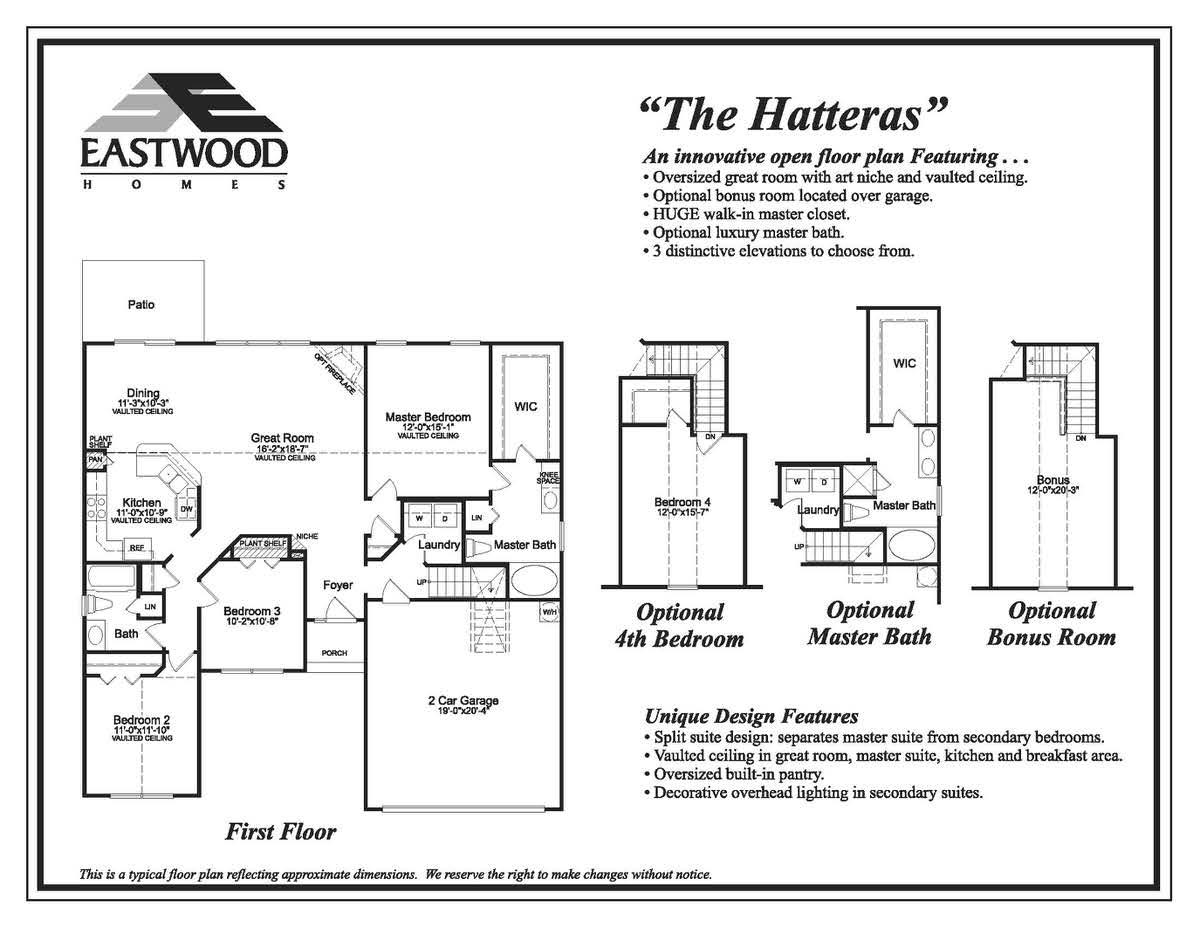 Hatteras  First Floor Image