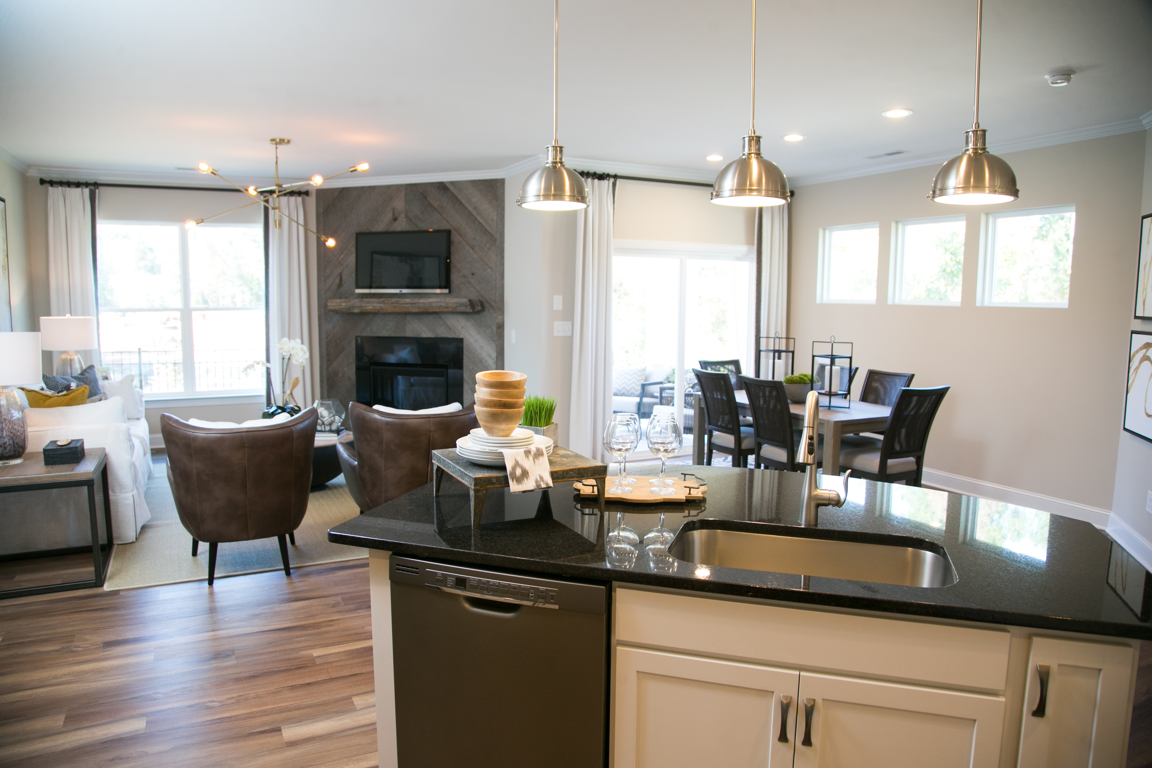 Norman Kitchen and Family Room