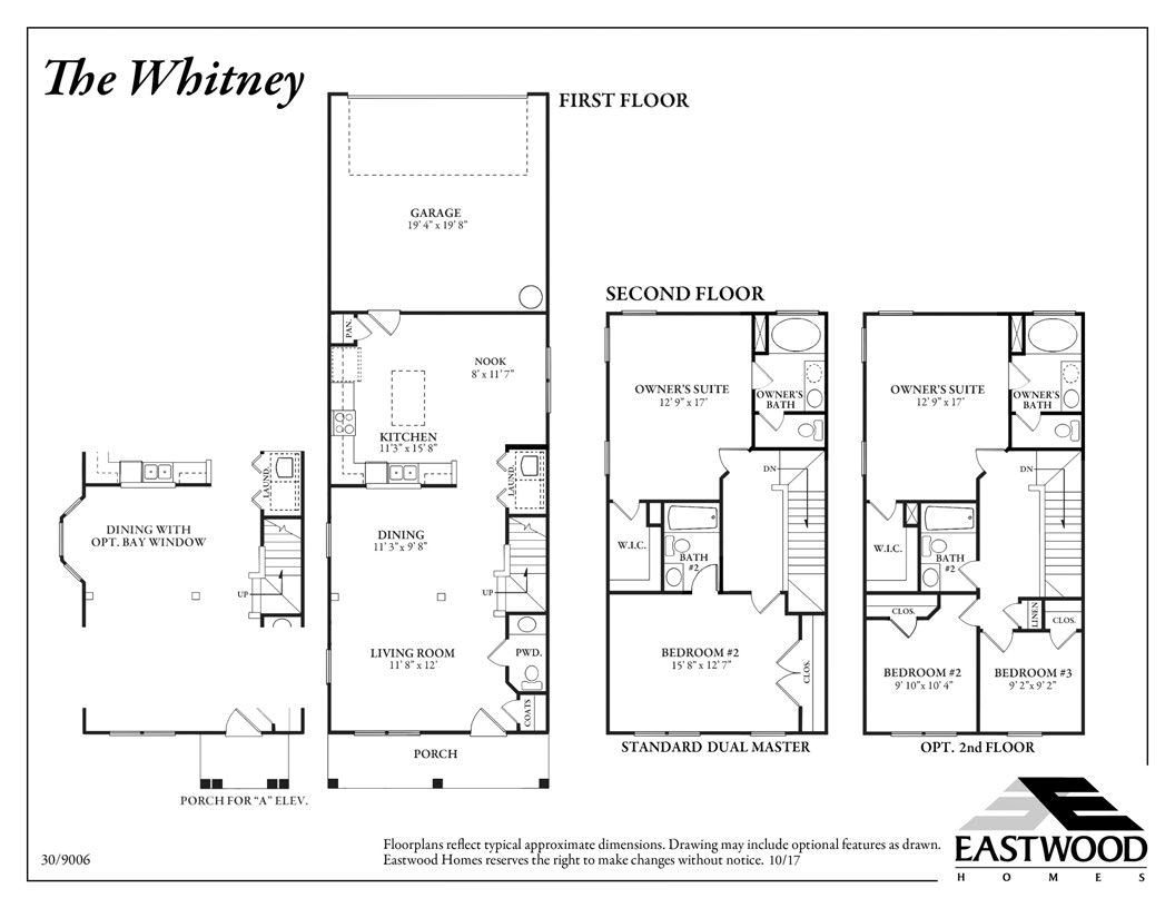 Whitney First Floor Image
