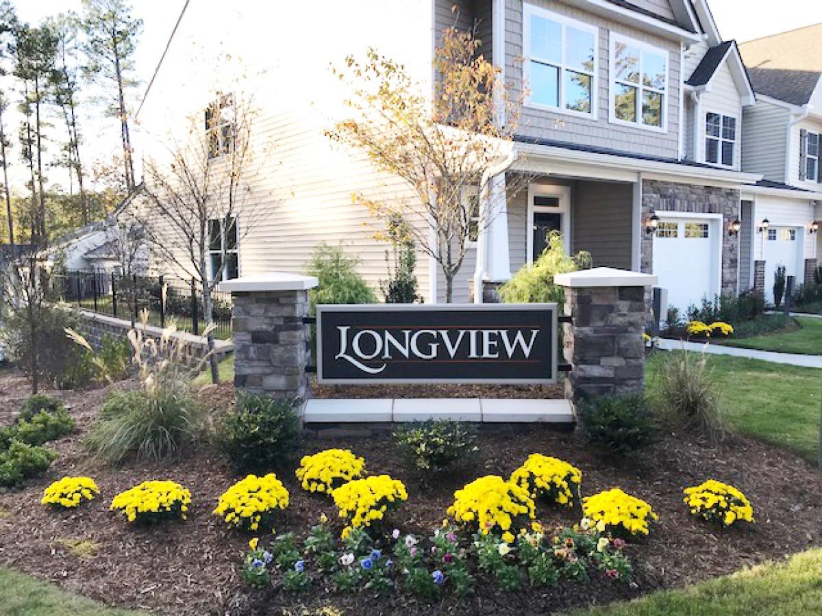 Longview Entrance Monument