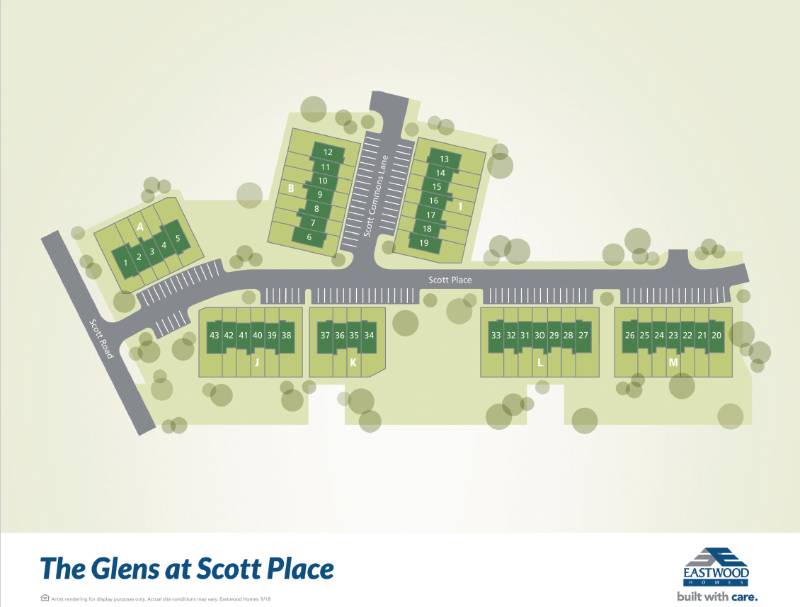 The Glens at Scott Place Townhomes
