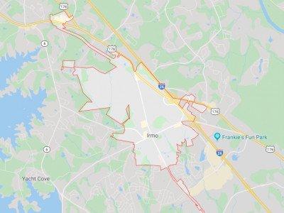 Irmo Map