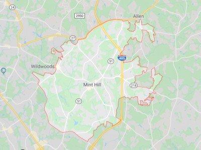 Mint Hill Map