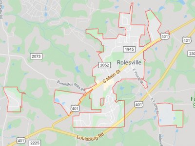 Rolesville Map