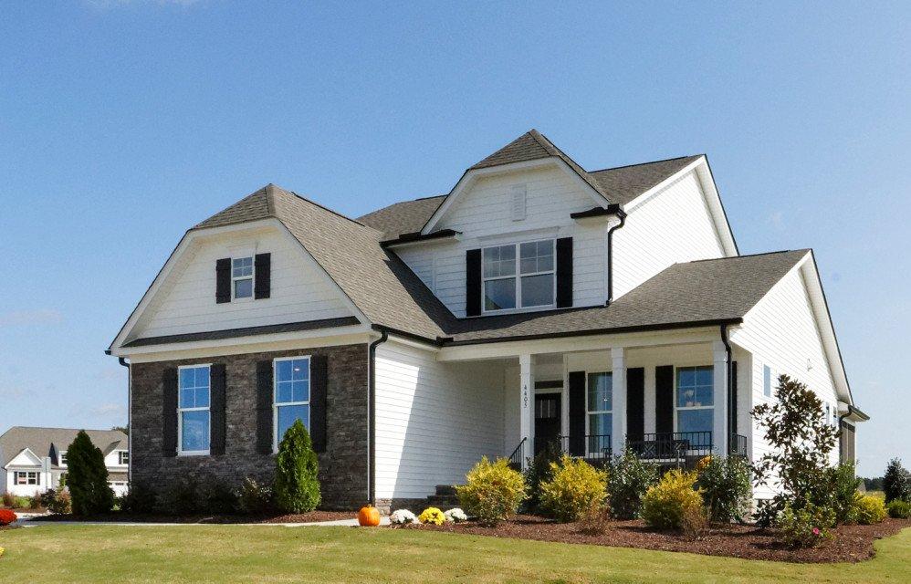 Raleigh model home exterior